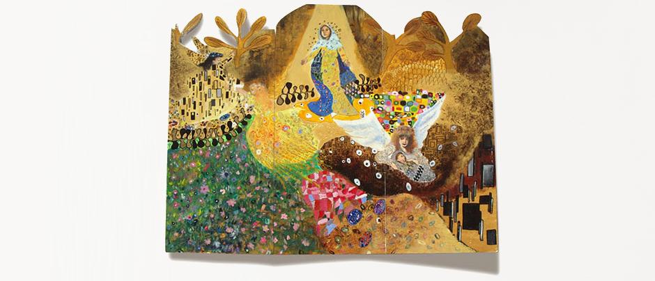 Triptik Klimt