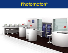 <strong>Projet: </strong>Stand Photomaton / Auchan