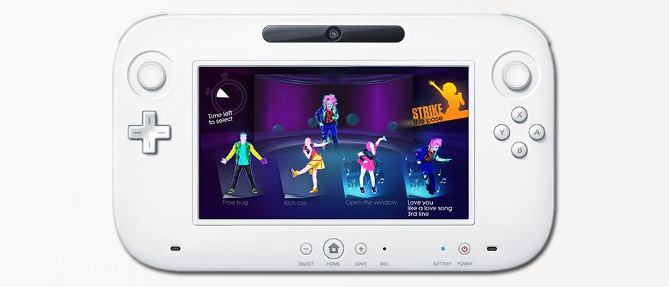 Interface utilisateur Just Dance Ubisoft