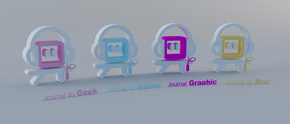 Wallpaper Journal du Geek Gamer